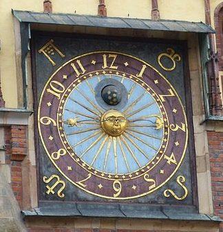 zegar ratusza Wrocław